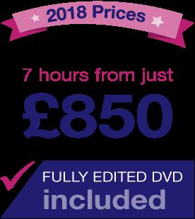 Make Light work wedding videography Portsmouth. 2018 price list.
